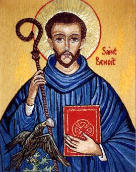 Les instruments de la perfection chrétienne - Saint Benoit de Nursie (Extraits) 601BenoitBranch